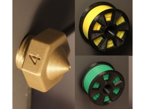 3D Printer Door Knobs ( Nozzle & Filament Spool )