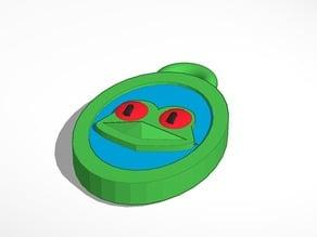 frog head pendant