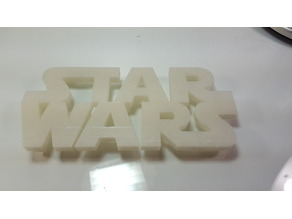 Star Wars Wall sign
