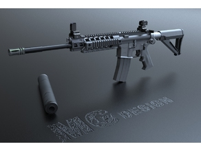 SIG516 Assault rifle (M416 M4A1)