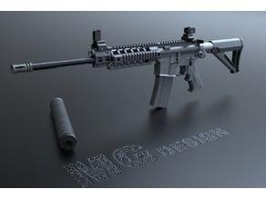 SIG516 Assault rifle (M416 M4A1)