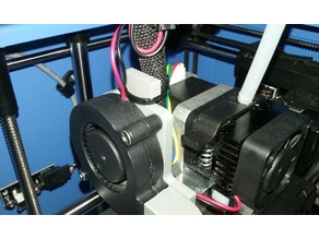 X-One Blower Fan Mount with Cable Support