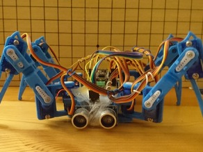 Spider robot(quad robot, quadruped)