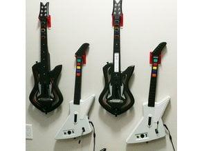 Guitar Hero Rock Band wall mount hangers