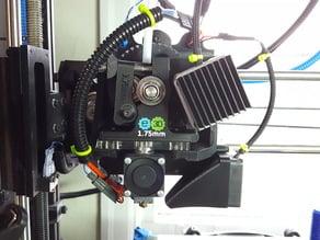 Extruder Upgrade for 1.75mm E3D-v6 on LulzBot TAZ 4.1