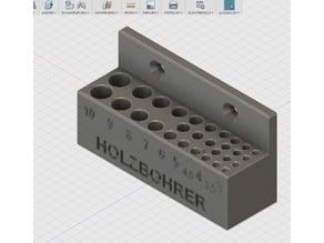 Metric Drillholder / Bohrerhalter für Wandmontage