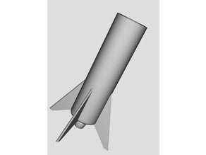Stackable Space X ispired rocket