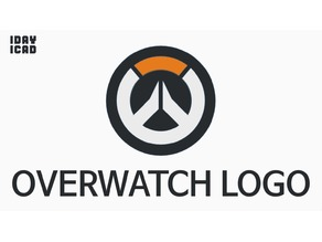 [1DAY_1CAD] OVERWATCH GAME LOGO