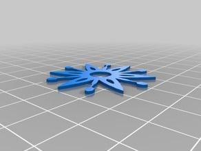 Randy's Customized Cut Snowflake #2