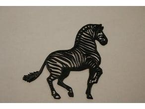 Zebra 2d Art