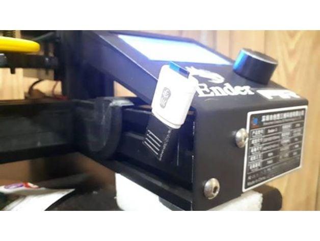 Ender 3 USB Holder by jan_michael