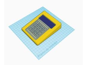2004 LCD Keypad and RFID enclosure 10º angled