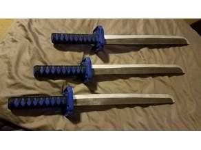 """Children's """"Ninja Sword"""" (Katana Tsuka & Tsuba)"""
