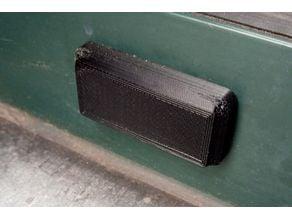 Weep Drainage Cover - Bouchon Pare-Tempête pour châssis aluminium