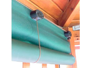 Roller Shade LIft Cord System DIY