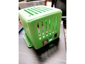 Wind simulator arduino box and lid