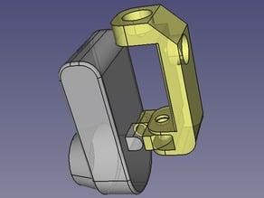 Webcam C905 bracket, magnetize or double sided-tape