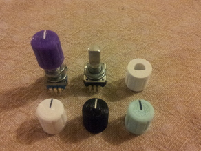 Knob for rotary encoder or potentiometer