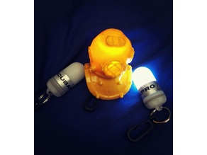 Diving Helmet With LED Flash