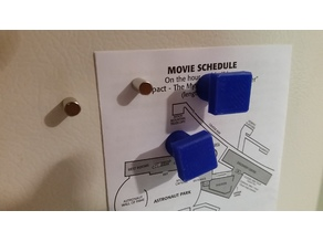 Easy Grasp Refrigerator Magnet