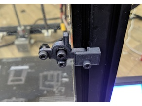 Enclosure Door Latch for 20x20 Extrusion