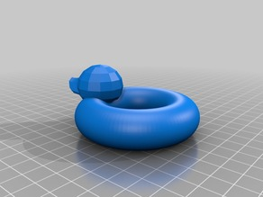 Mini Rubber duck float toy