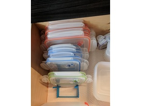 Kitchen lid organizer