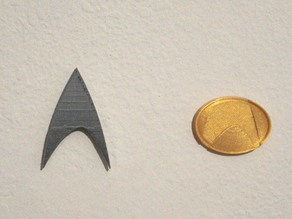 Star Trek TNG Combadge (Communictaor)