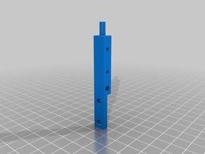 Jeep rails split for small printers