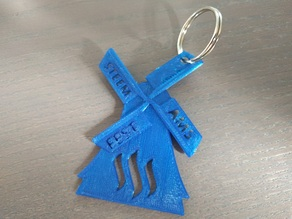 SteemFest community initiative keychain