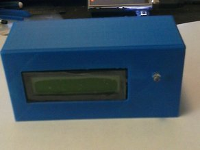 Case for 2 X 16 LCD display