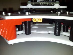 Crossfire 2 quadcopter simple spacers