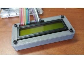1602 LCD enclosure