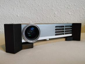Universal Projector Leveller improved for medialy DLP style projectors
