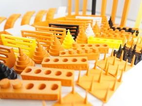 Make: 2015 3D Printer Shoot Out Test Models