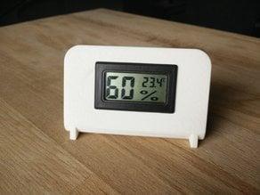 "1,5"" Digital Thermometer Hygrometer holder"