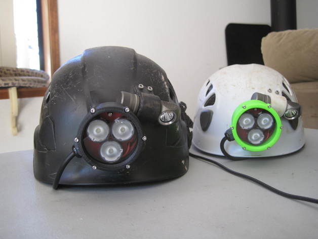 By Cadsys For Thingiverse Wxtpzokiu Printable Headlamp Cavingmining v8nyNwO0m