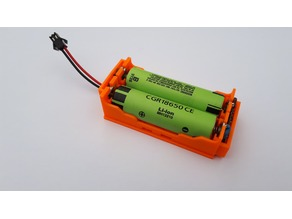 18650 battery holder With BMS
