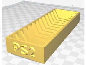 Expanded PS2 memory card holder