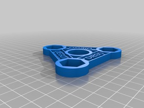 My Customized Spinner with your name and M12 nuts