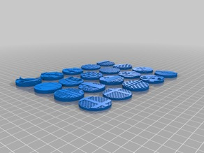 Easy Printing 32mm Bases