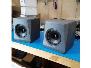 Angular Speaker Box - 4 Inch