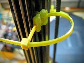 OpenBeam 1515 cable tie clip