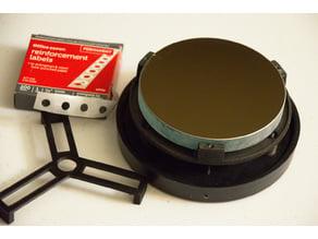 Customizabl 3-prong Telescope Center Dot Placer better for some mirrors.