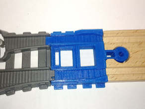 TrackMaster to Wooden Track Adapter