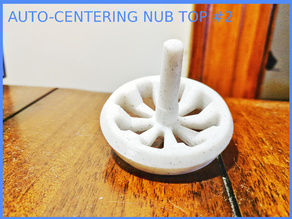 SPINNING TOP WITH AUTO-CENTERING TIP #2