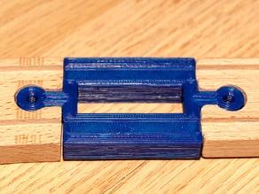 Wooden Train Track Compatible - Male to Male (RIM)