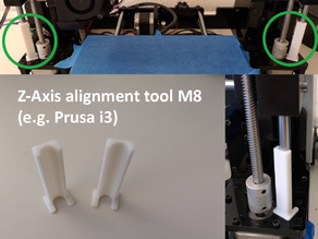 Z-Axis alignment tool M8 (e.g. Prusa i3)