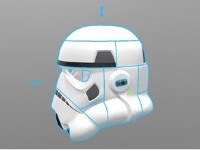 Stormtrooper Helmet open vents (wearable)