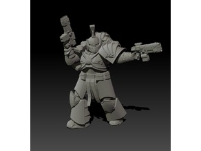 Armoured Space Soldier Commander